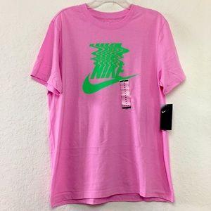 NWT Men Nike Tee Pink Shirt size